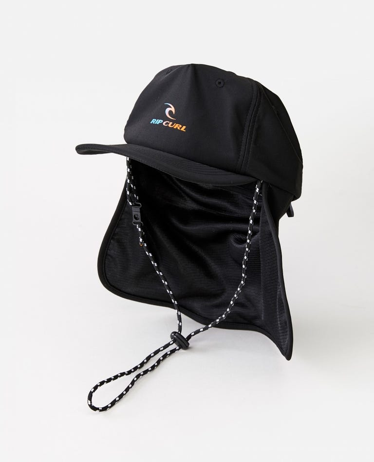 Beach Cap - Boys (8 - 16 years) in Black
