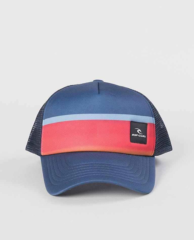 Eclipse Trucker Cap - Boy in Navy