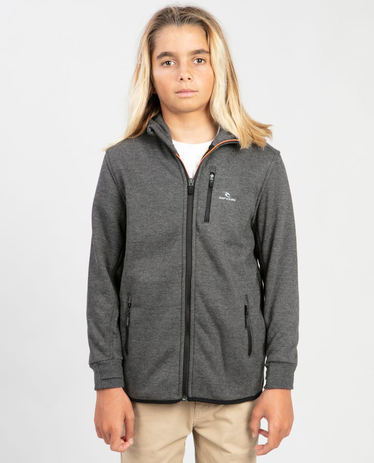 Boys Departed Anti Series Jacket in Charcoal