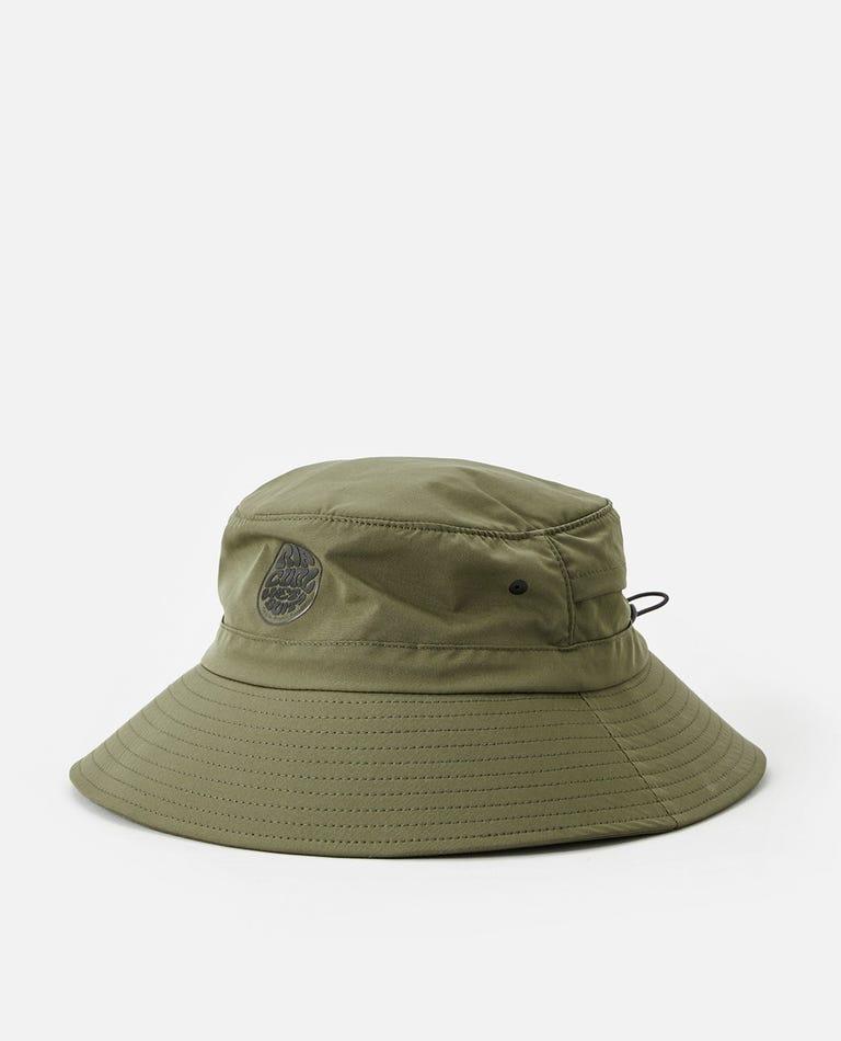 Surf Series Hat - Boy in Dark Olive