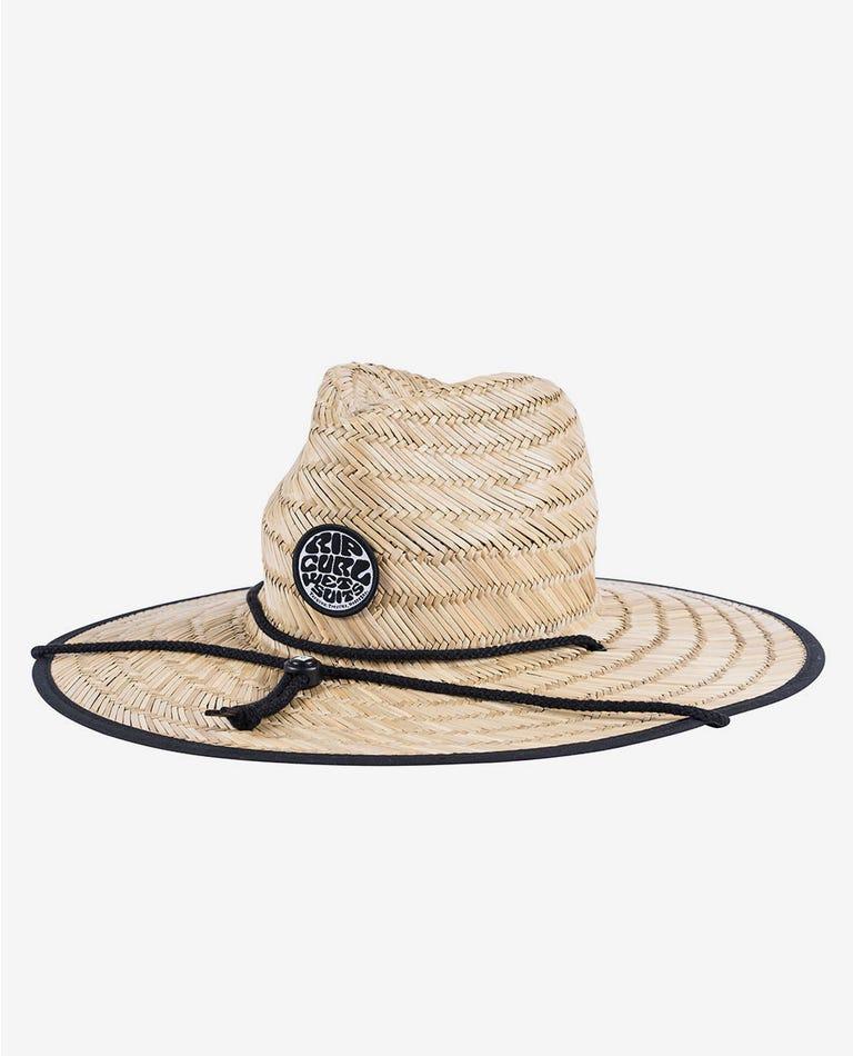 Wetty Straw Hat - Boys in Black