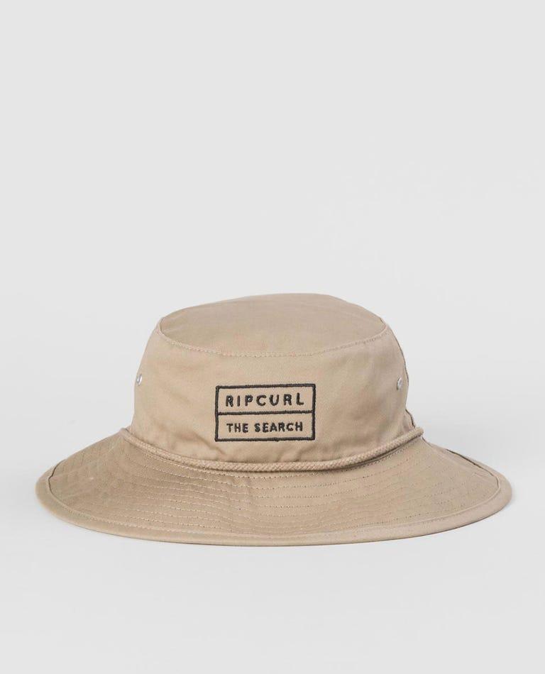 Utopia Reversible Wide Brim Hat - Boy in Khaki