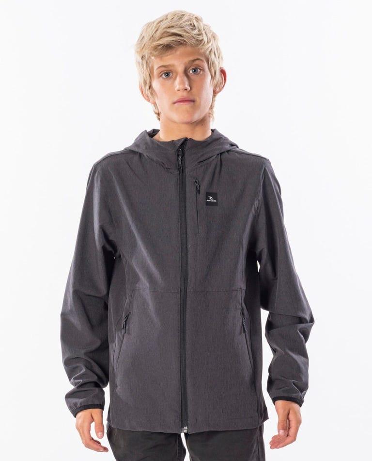 Boy's Elite Anti Series Jacket in Black