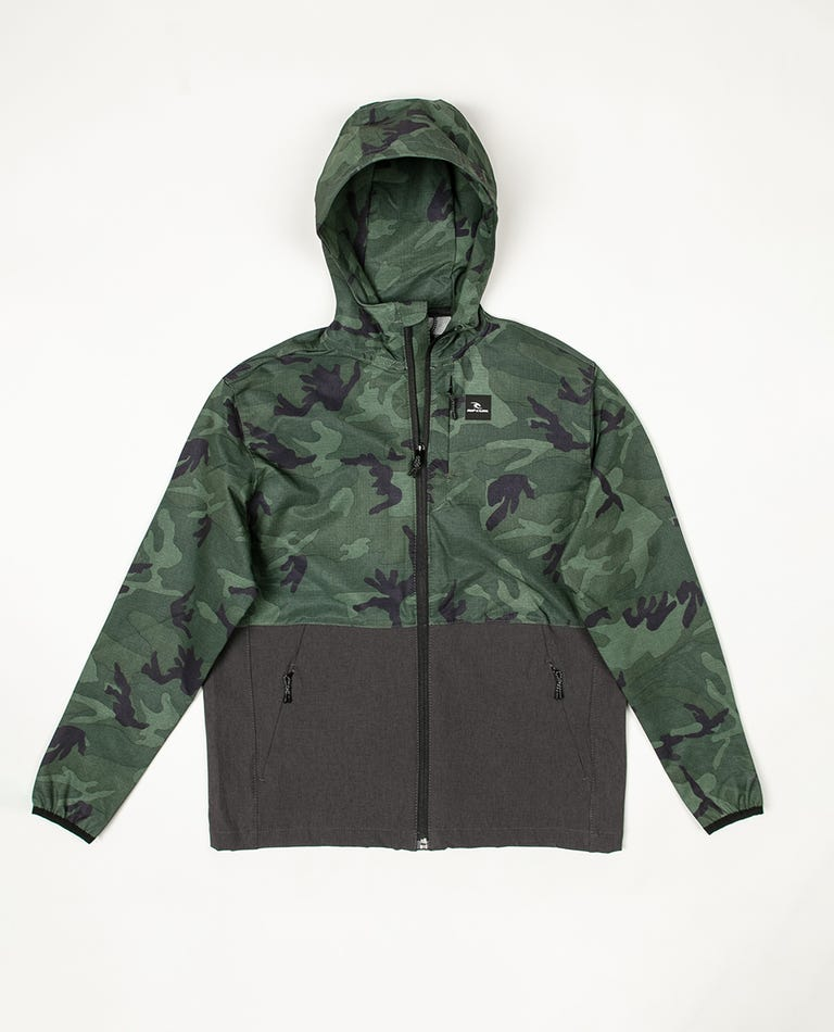 Boys Elite Anti Series Jacket in Camo
