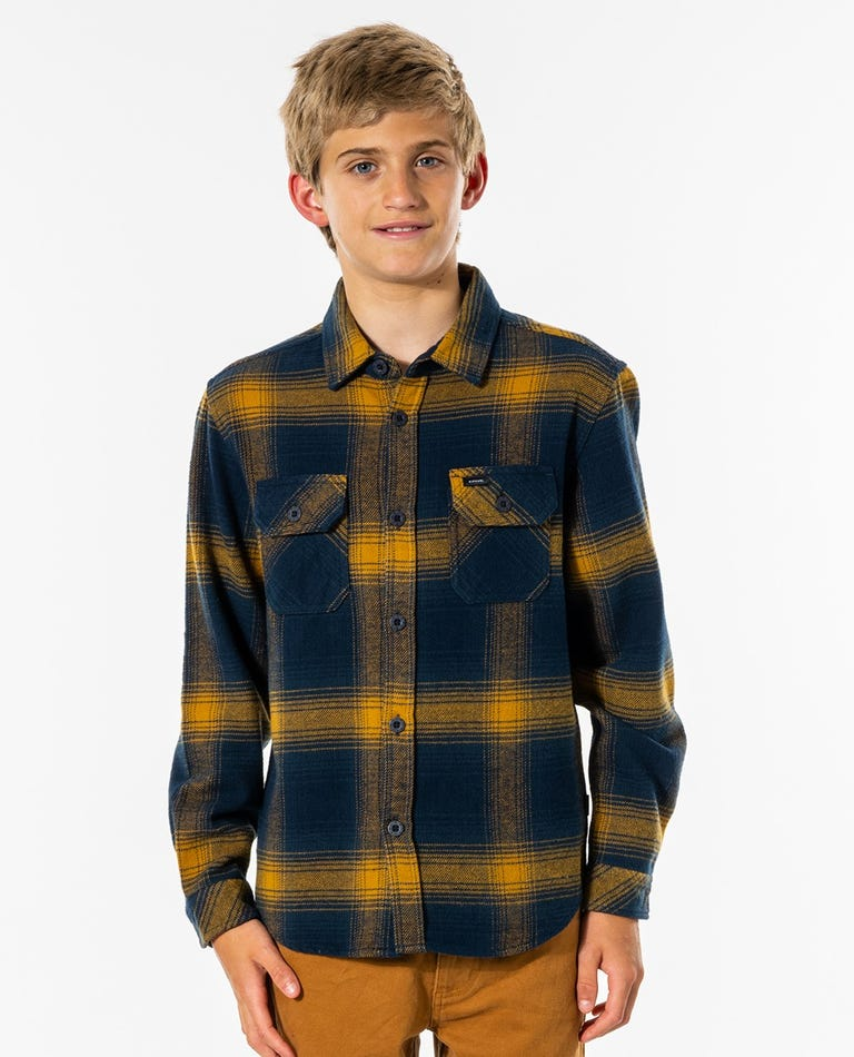 Count Long Sleeve Shirt - Boys (8 - 16 years) in Gold