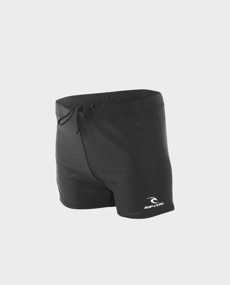 Corp Boyleg Swimsuit - Boys (8-16 years) in Black