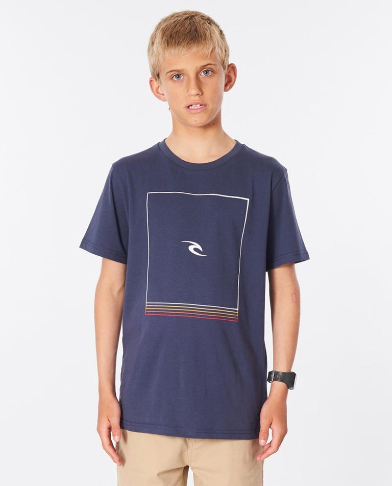 Standby Tee Boys (8-16 years) in Navy