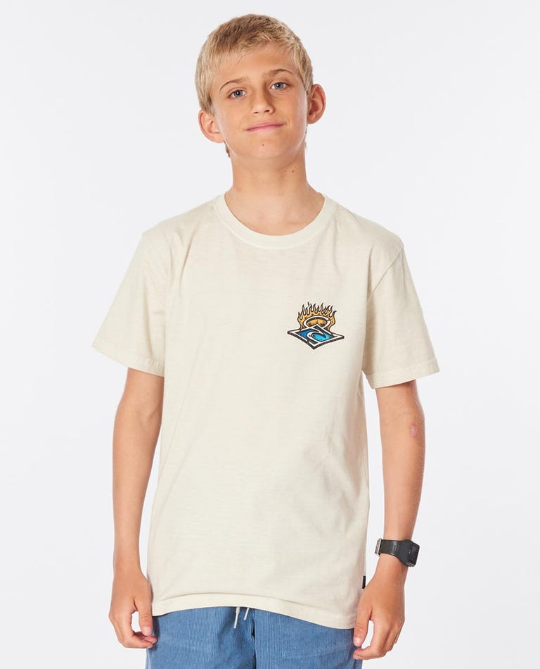 Endless Runners Tee Boys (8-16 years) in Bone