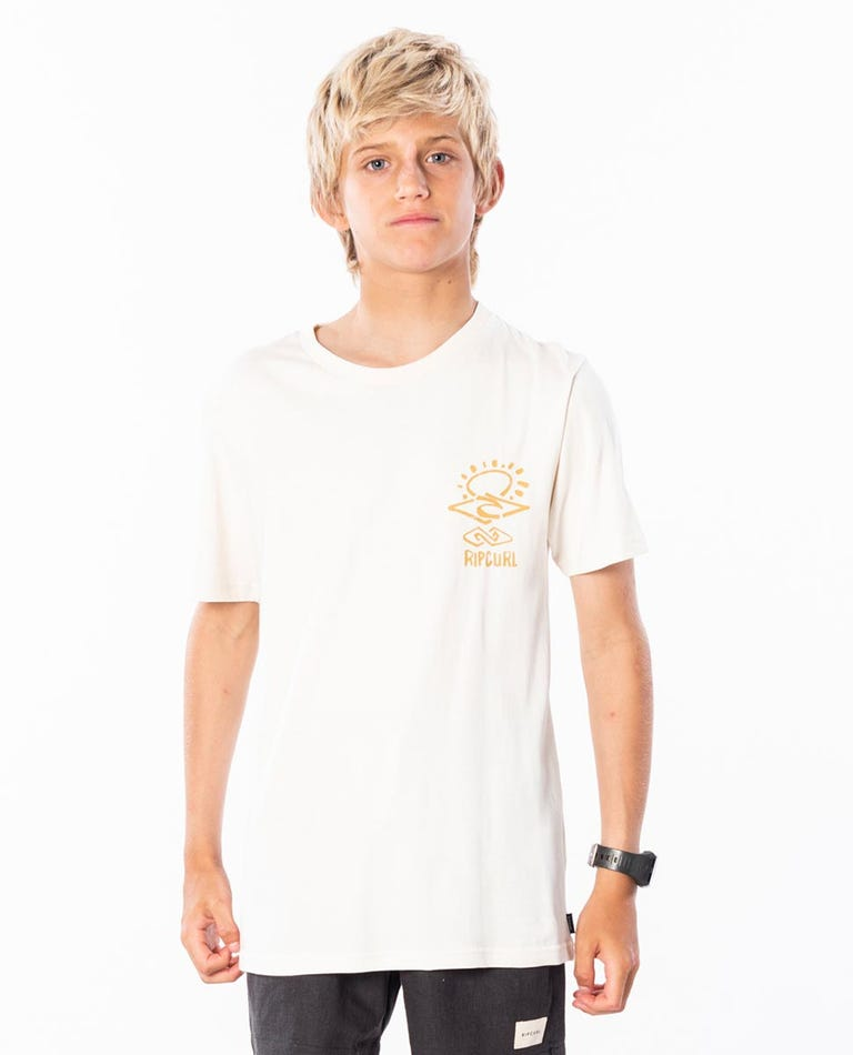 Search Sketch Tee Boys (8-16 years) in Off White
