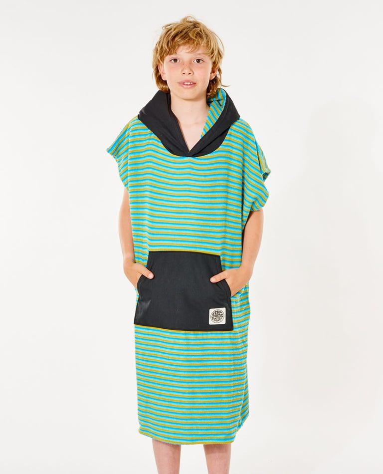 Surf Sock Hooded Towel - Boys (8 - 16 years) in Blue