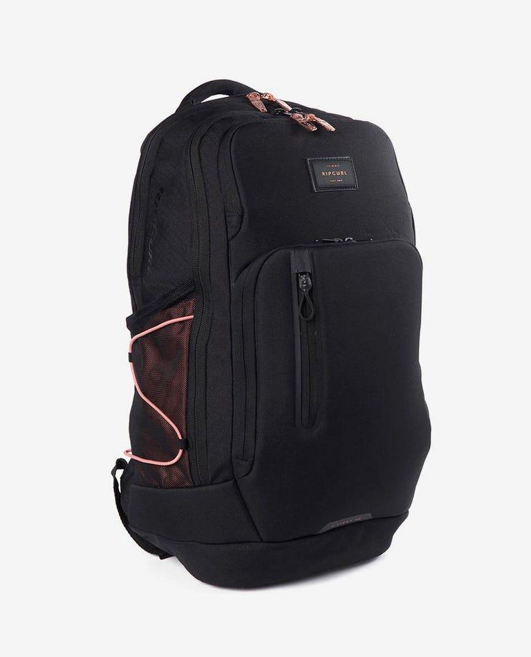 F-Light Ultra Rose Backpack in Black