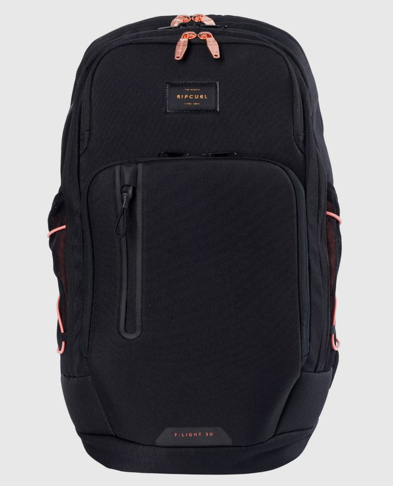 F-Light Ultra Rose Backpack in Black