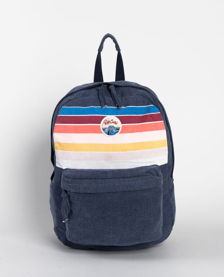 Keep On Surfin Backpack in Navy
