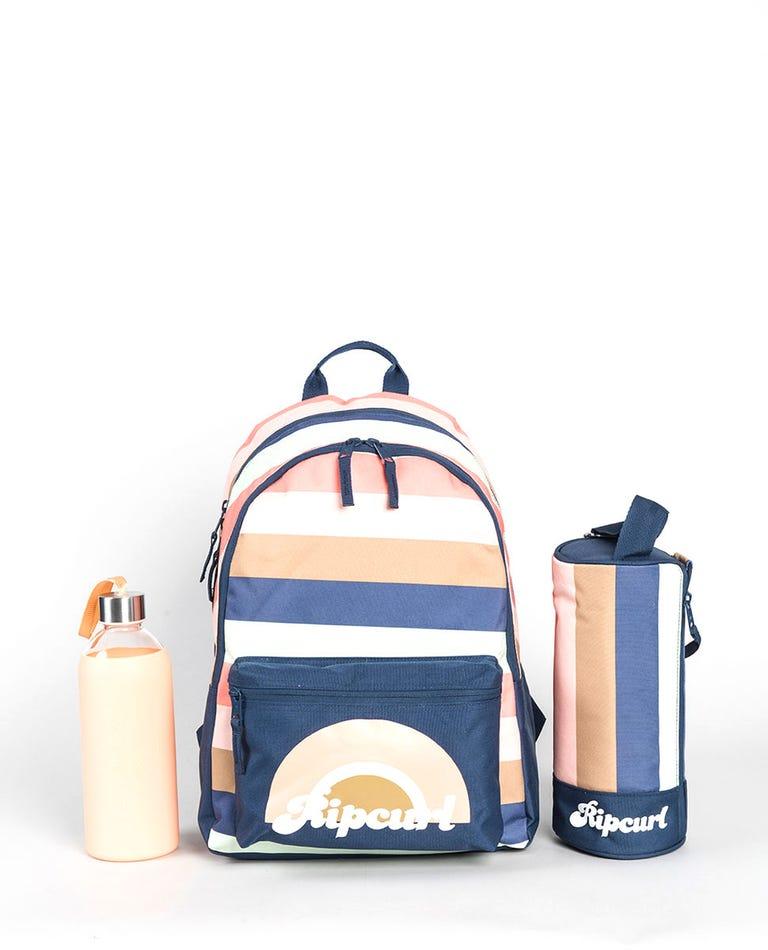 Sunsetters Backpack in Dark Blue