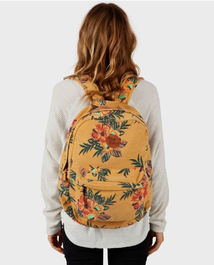Sun Chasers Backpack in Mustard