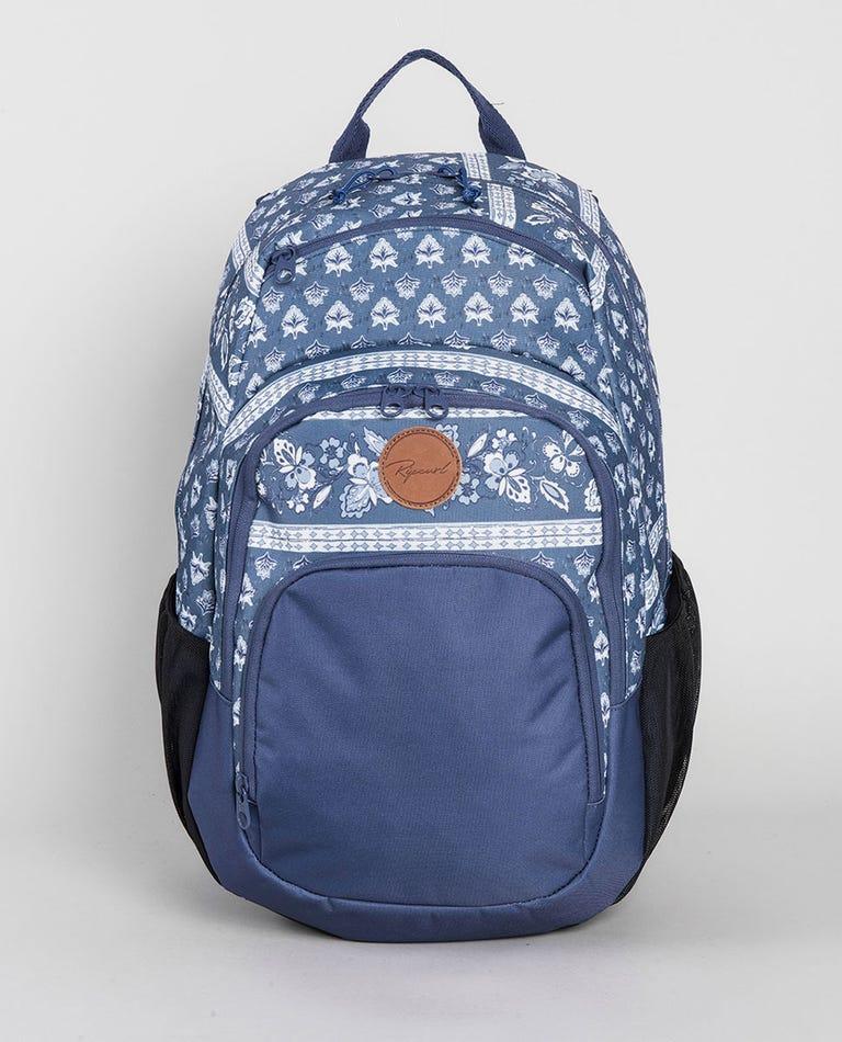 Overtime Navy Beach Backpack in Slate Blue