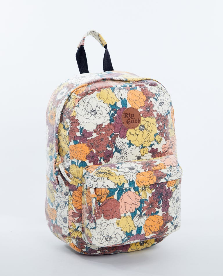 Golden Days Canvas 18L Backpack in Cream