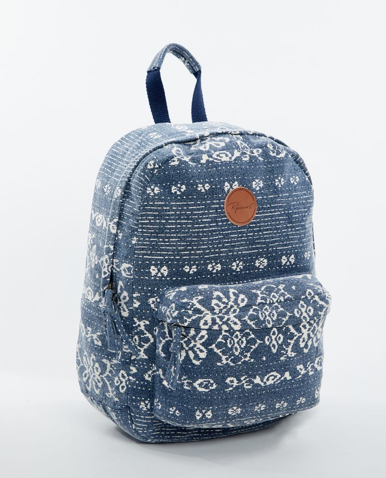 Shack 18L Canvas Backpack in Navy