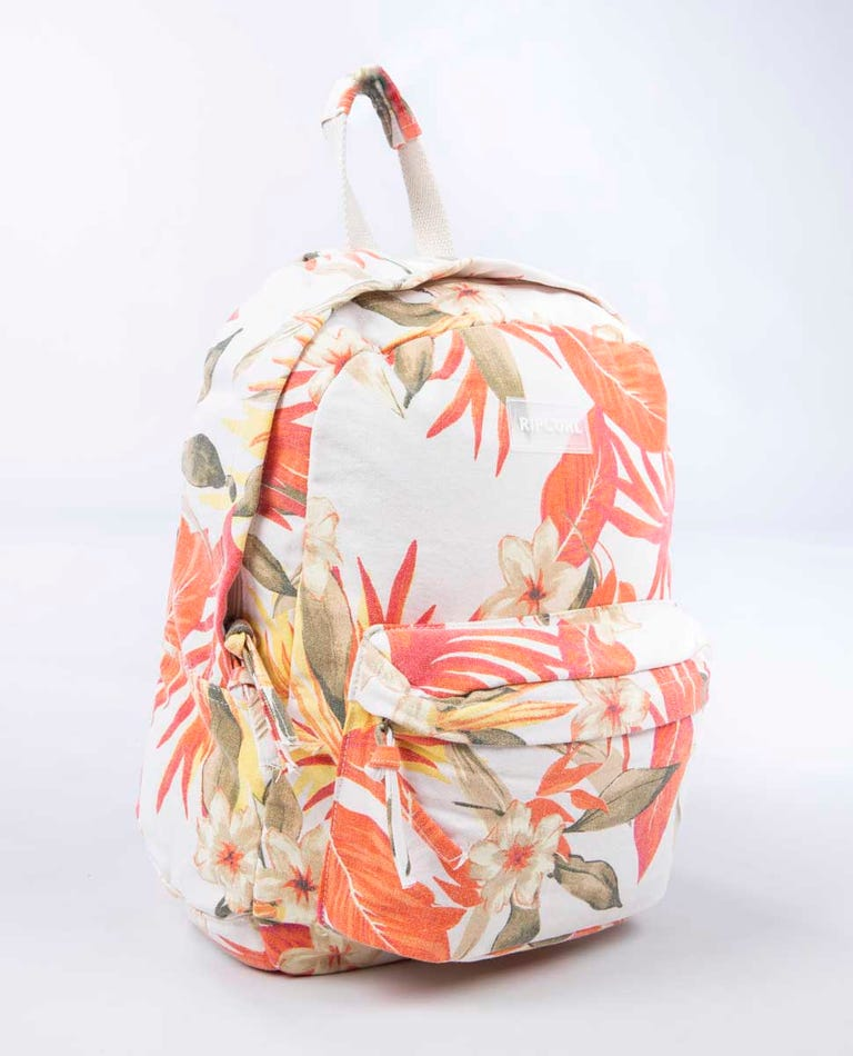 Canvas 18L Multi Backpack in Light Pink