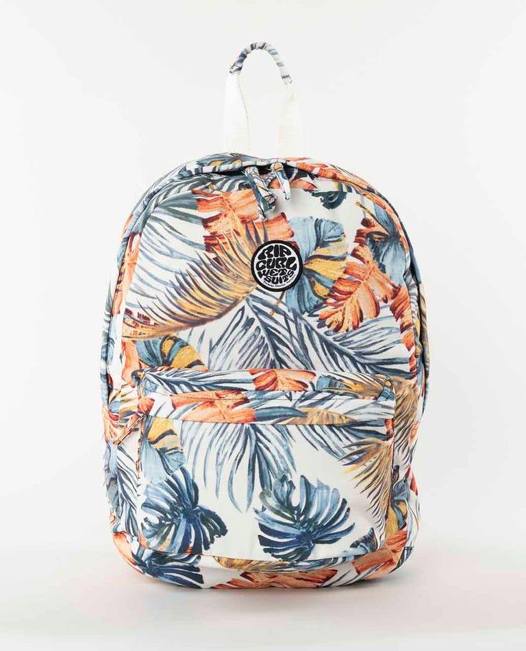 Sayulita Canvas 18L Backpack  in Bone