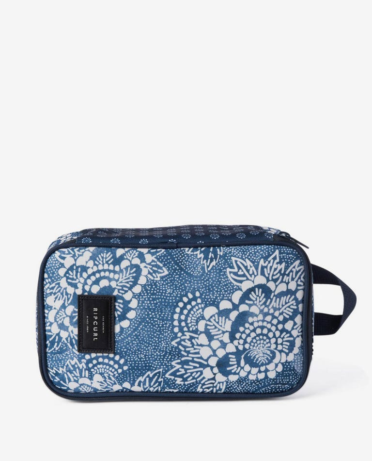 Lunch Box Coastal View in Navy