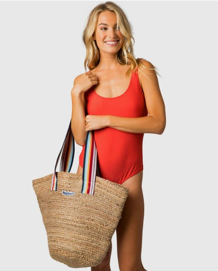 Summer Lovin Jute Bag in Natural