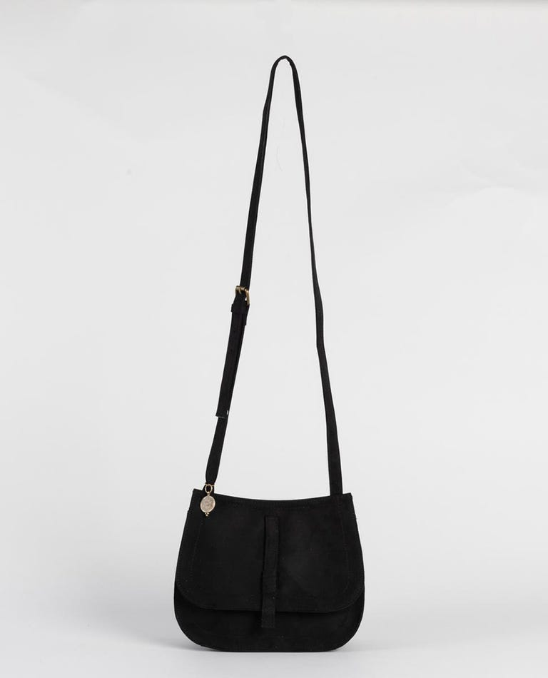 Spice Temple Cross Body Bag in Black