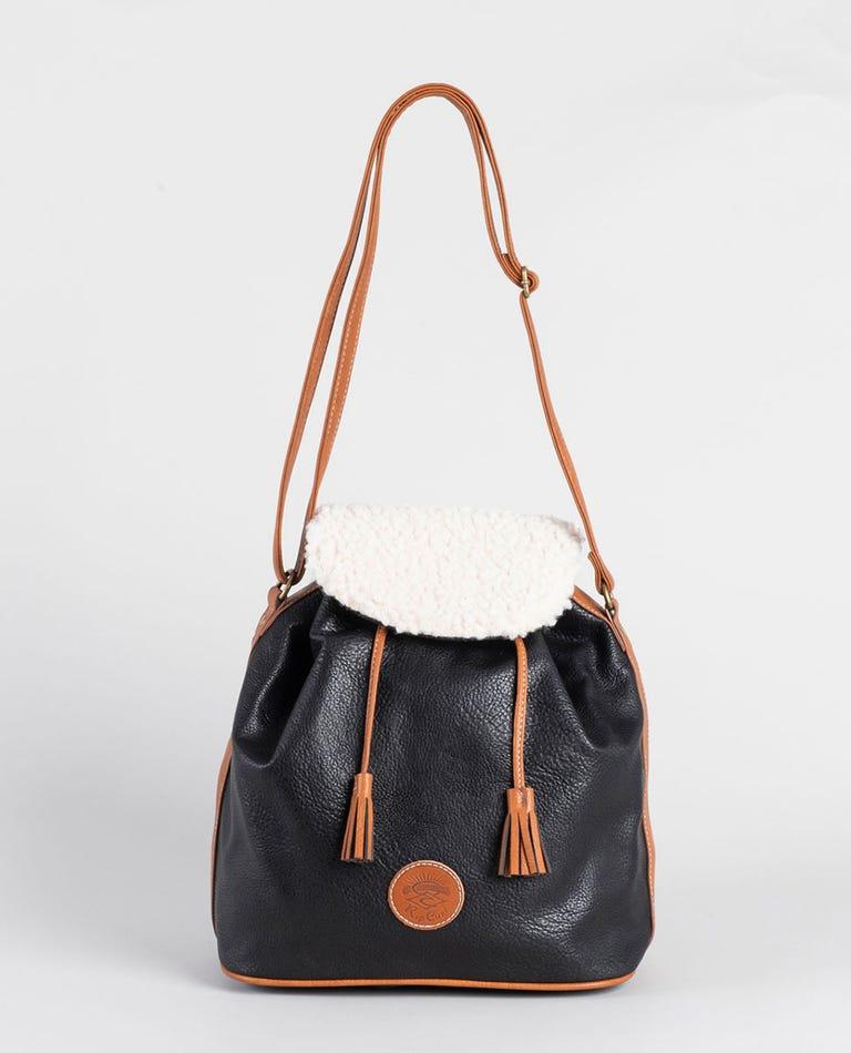 Lottie Shoulder Bag in Black