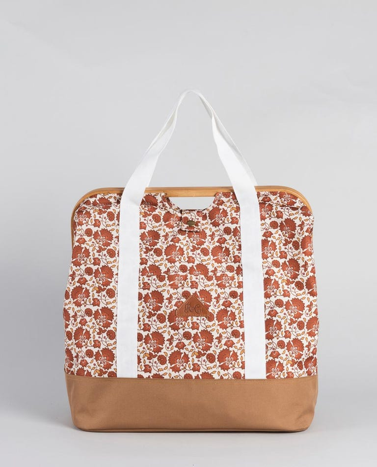 Stand & Stuff Spice Temple Beach Bag in Orange