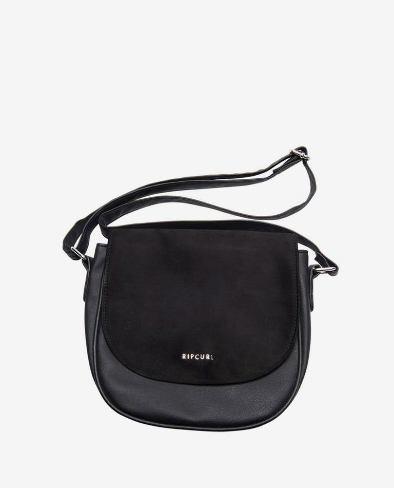 Castaway Saddle Bag in Black