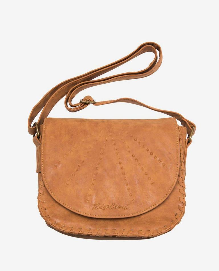 Lotus Saddle Bag in Vintage Tan
