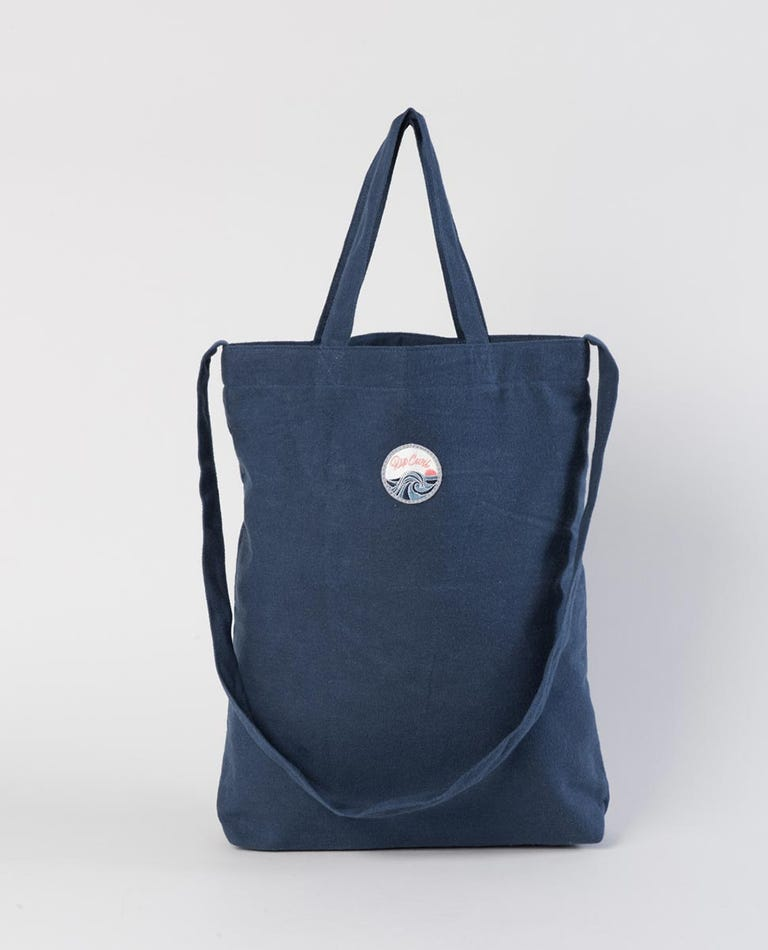 Keep On Surfin Tote Bag in Navy