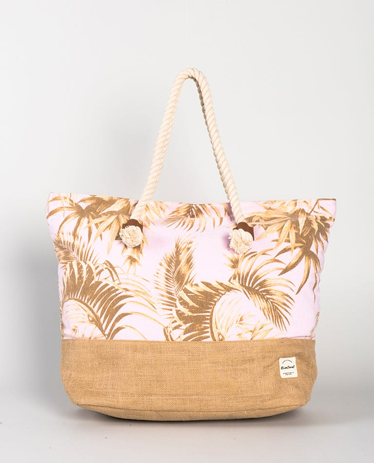 Paradise Cove Tote Bag in Lilac