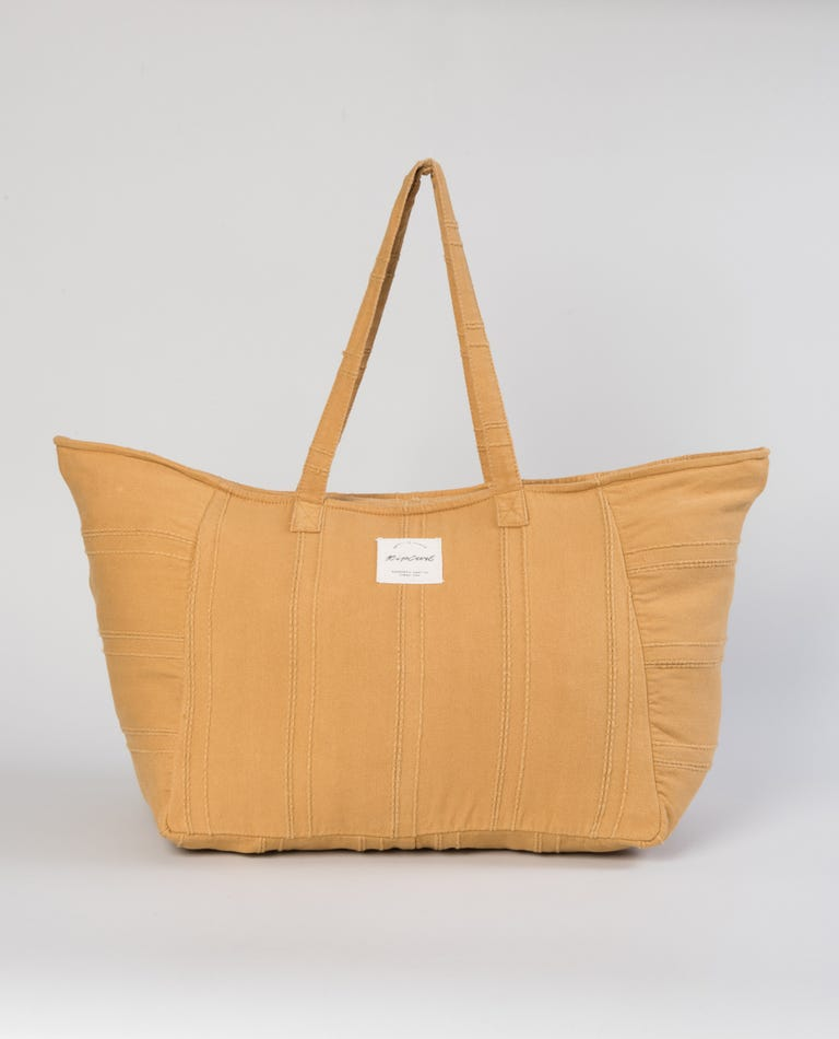 Paradise Cove Jumbo Tote Bag in Gold