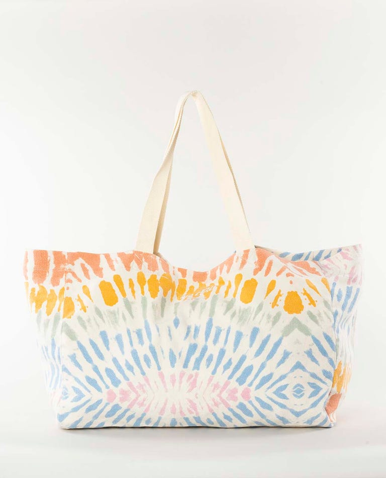 Wipe Out Beach Tote Bag in Multico