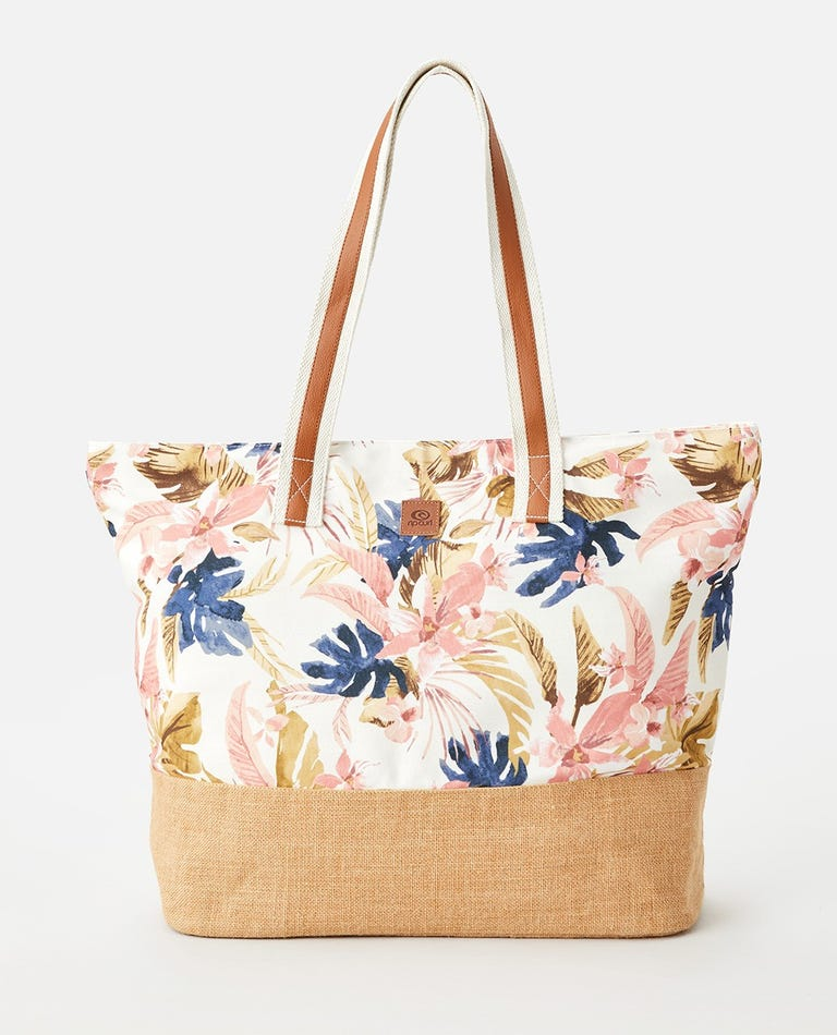 Sunset Waves Beach Tote in Multico