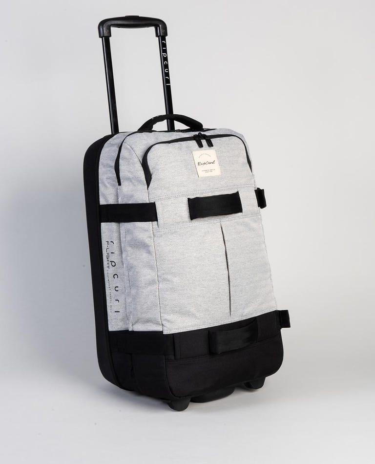 F-Light Transit Mix Wave Travel Bag in Grey