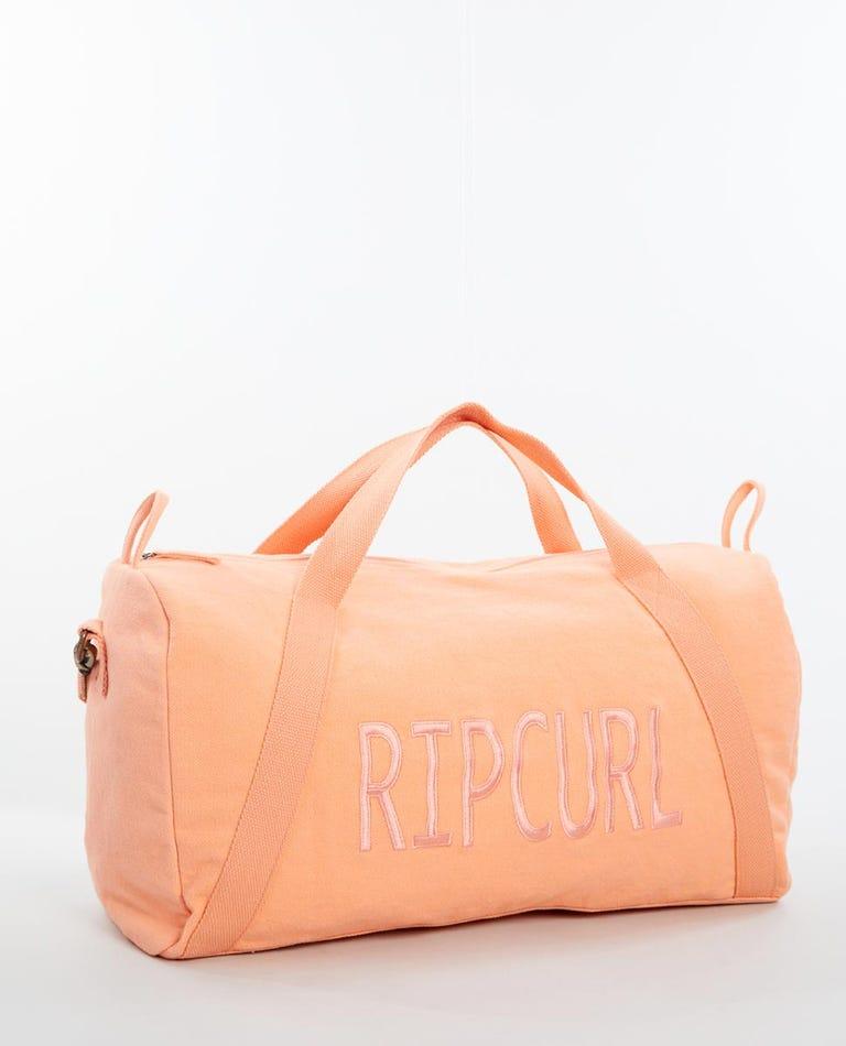 Legacy Large Overnight Duffle Bag in Light Orange