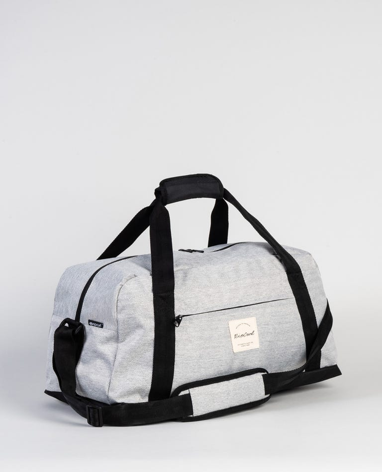 Mix Wave Mid Duffle Bag in Grey