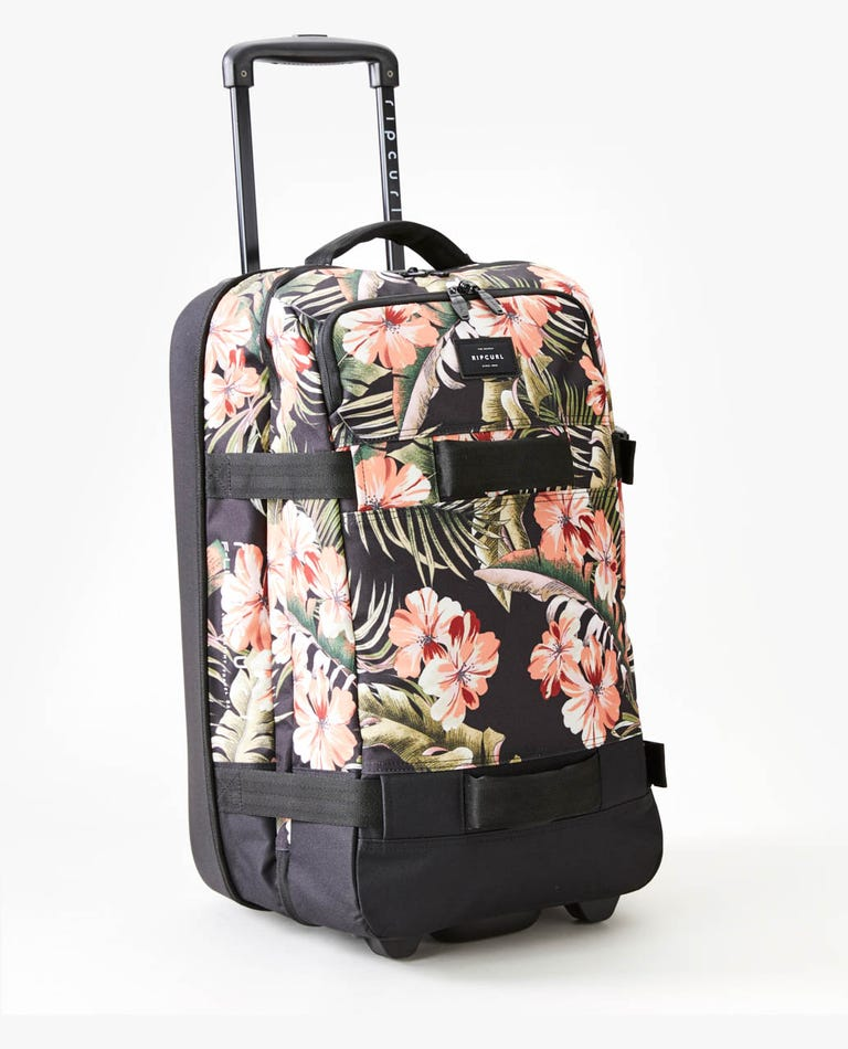 Leila F-Light Transit 50L Travel Bag in Black