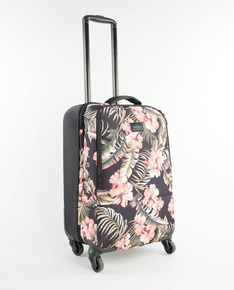 Leila F-Light 45L 4 Wheel Travel Bag in Black