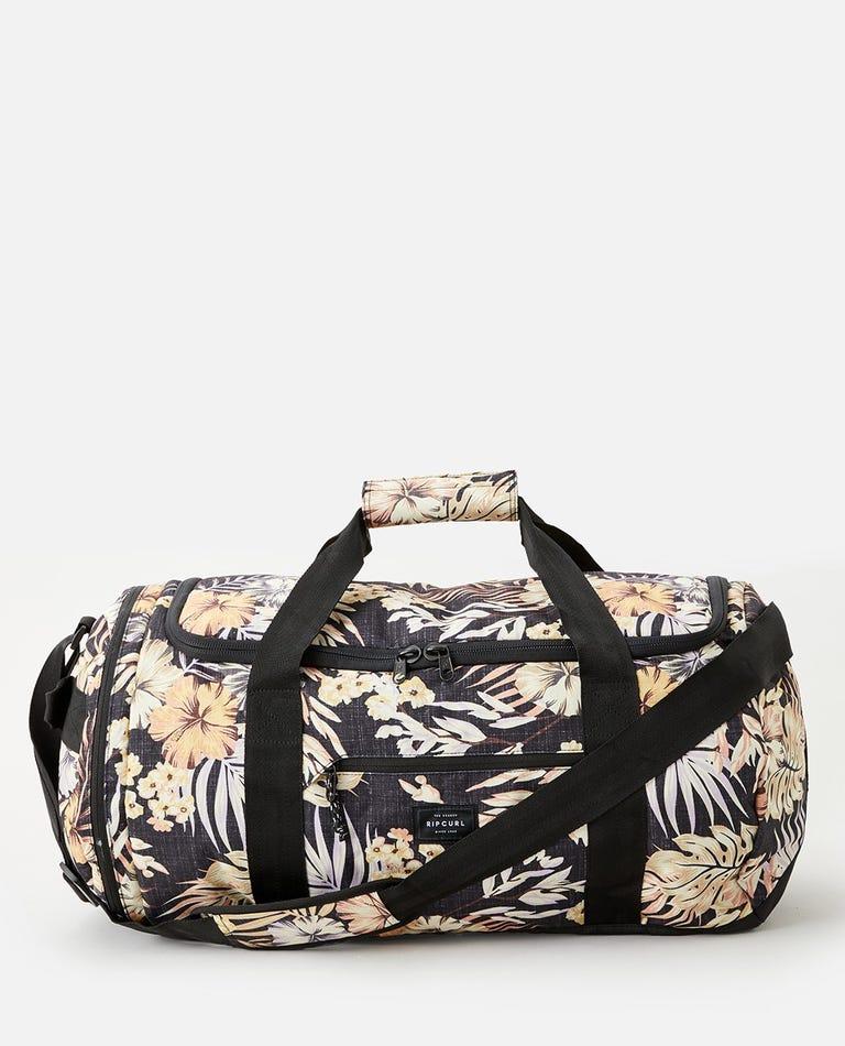 Paradise Large Packable 55L Duffle Bag in Black
