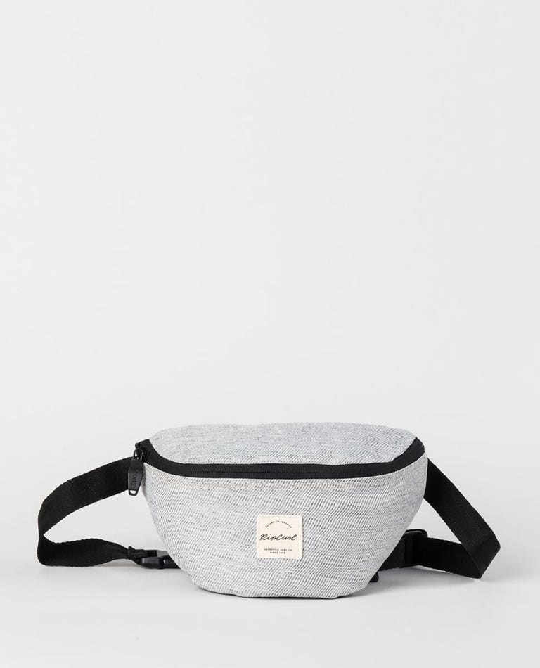 Mix Wave Waistbag in Grey