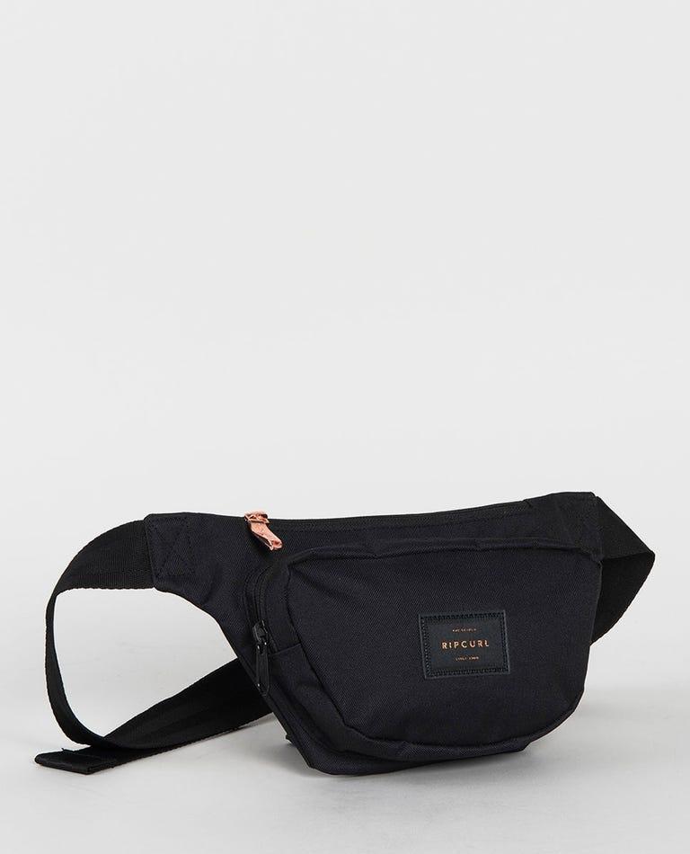 Belt Bag Rose in Black