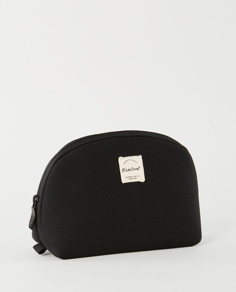 Mix Wave Beauty Pouch  in Black