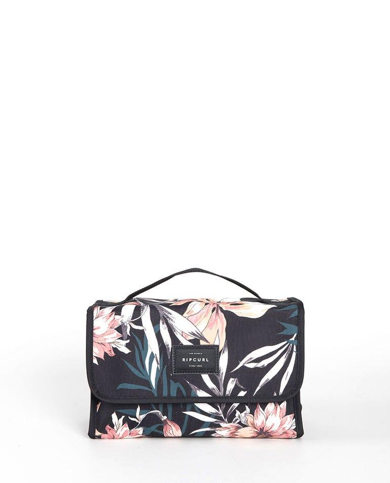Rolled Playa Beauty Case in Black
