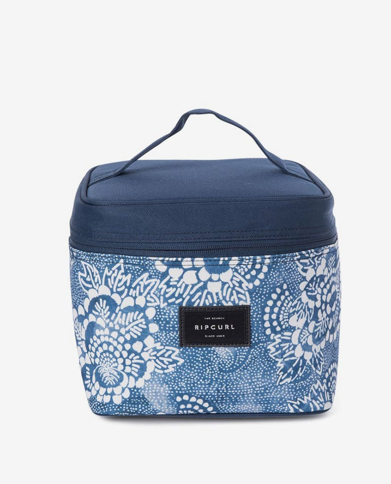 Cubed Beauty Case Coastal View in Navy