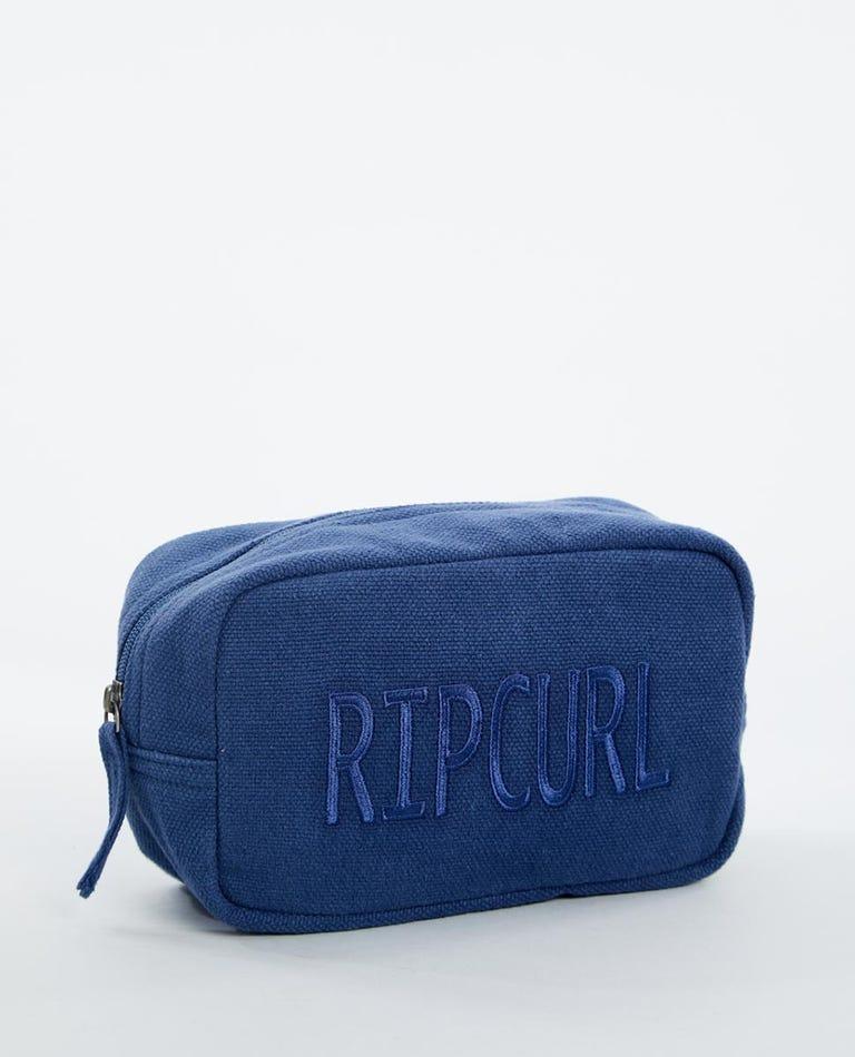 Core Legacy Beauty Bag in Mid Blue