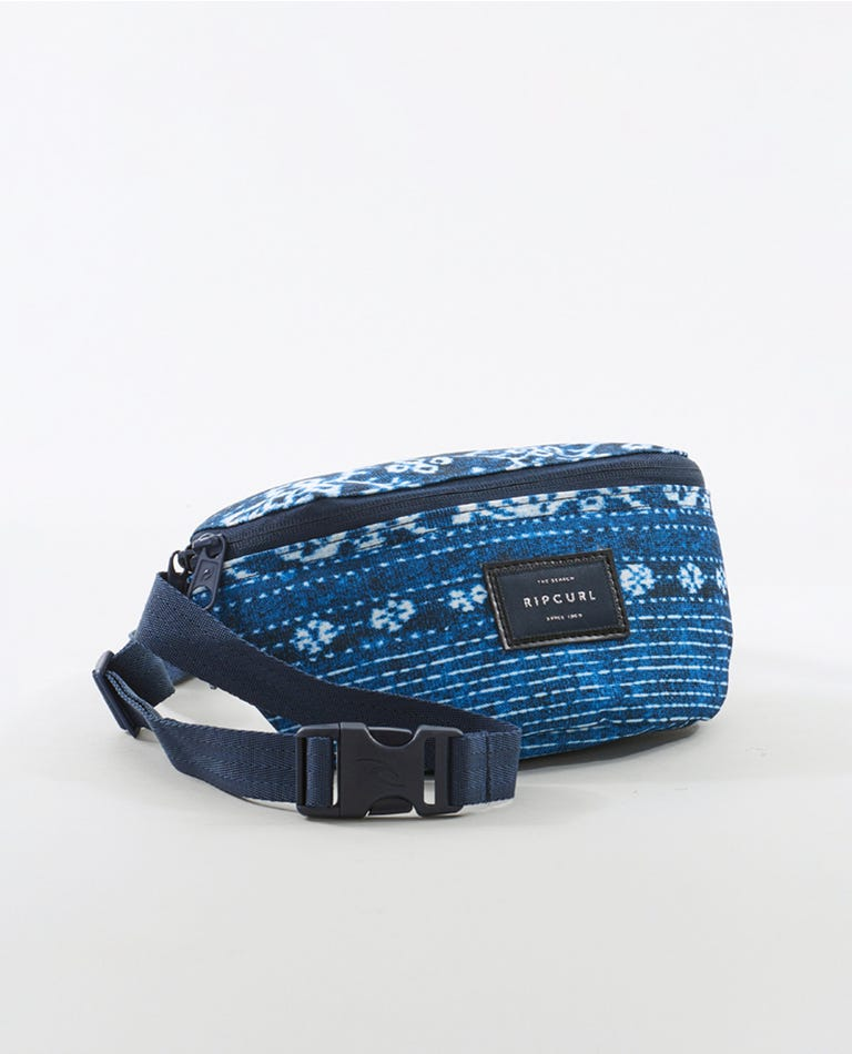 Surf Shack Waist Bag in Navy
