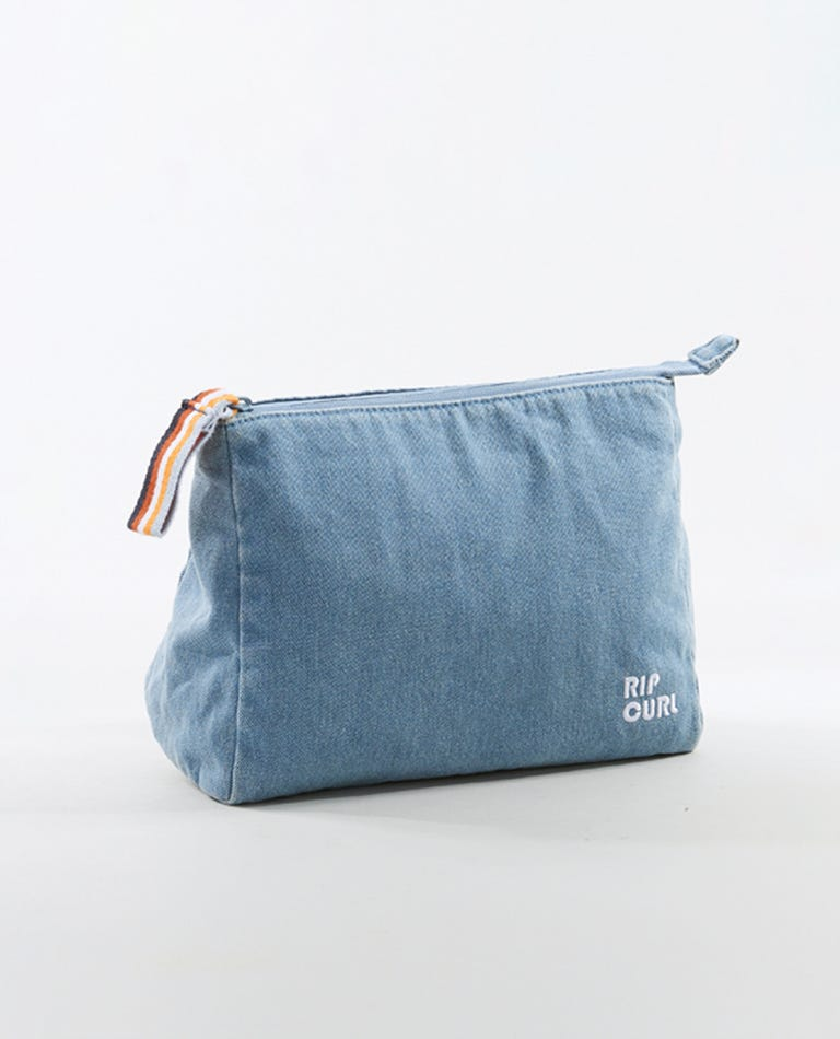Golden Days Cosmetics Bag in Blue